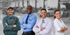 Automotive tech video team