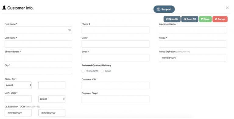 logitrac add new customer