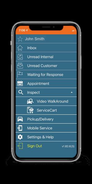 myKaarma app on phone