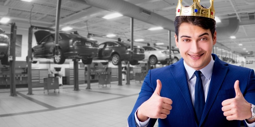 Conveniece is King for dealer auto service